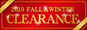 2019 FALL&WINTER CLEARANCE