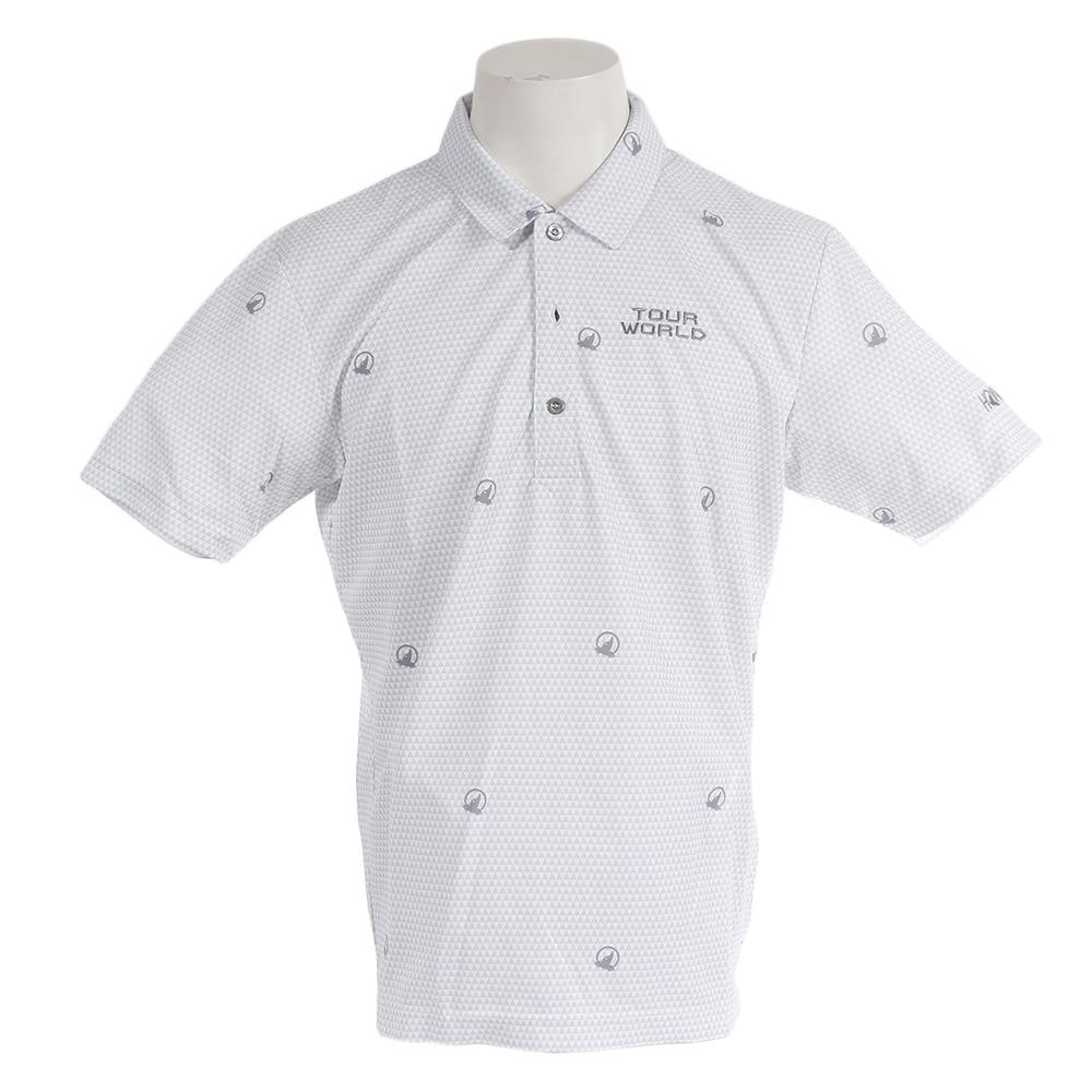 <ヴィクトリアゴルフ> プリントシャツ 731-419106 LGY