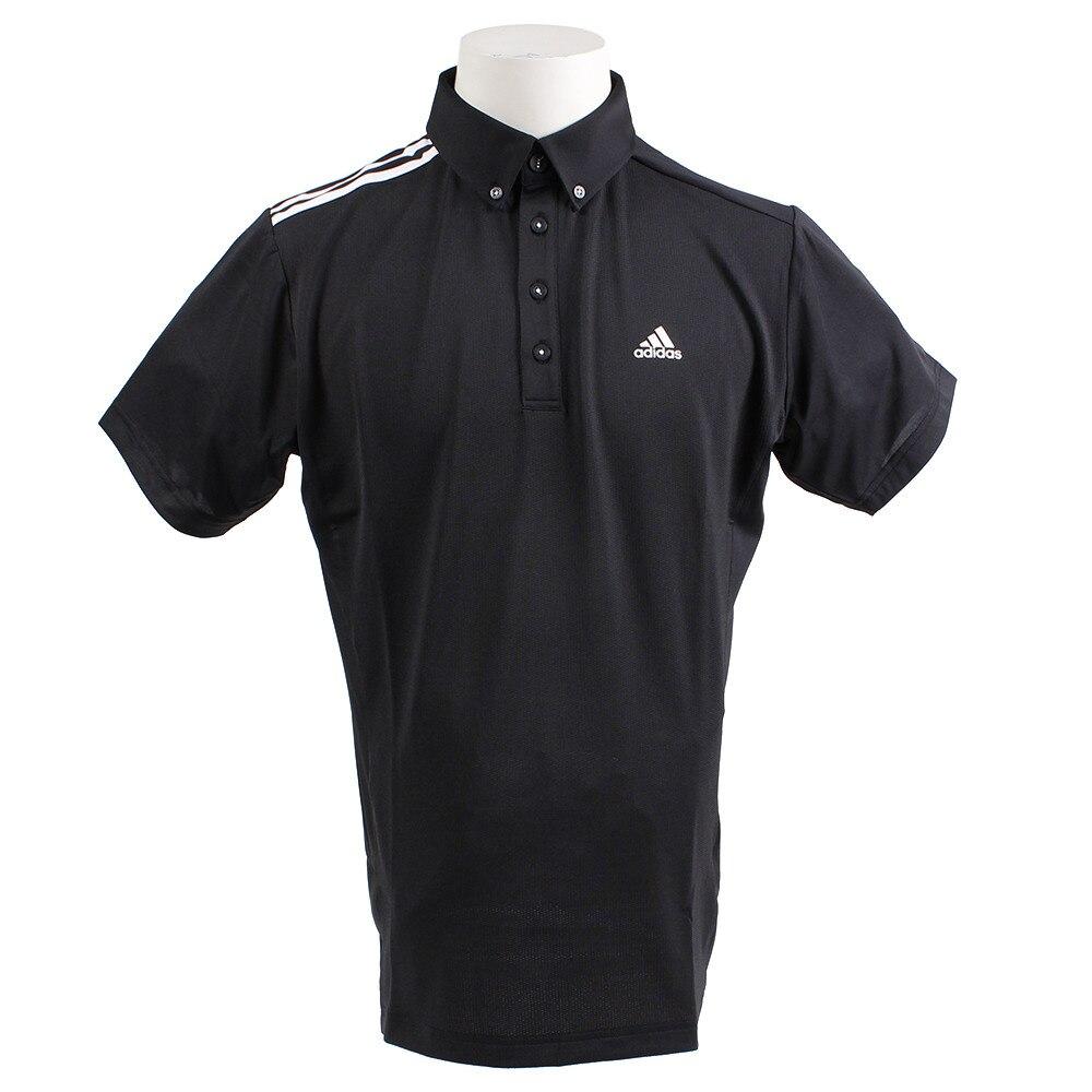 <ヴィクトリアゴルフ> 17BG ショルダー3ストライプ ポロシャツ LNN01-BC5638BK画像
