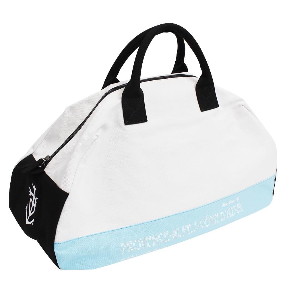 <ヴィクトリアゴルフ> ニーディープ ボストンバッグ ホワイト Knee Deep Boston Bag White画像