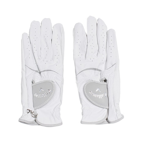 Style Dual Glove Women's 17 JM 両手用 GL CG STYLE DUAL W WH/GY 17