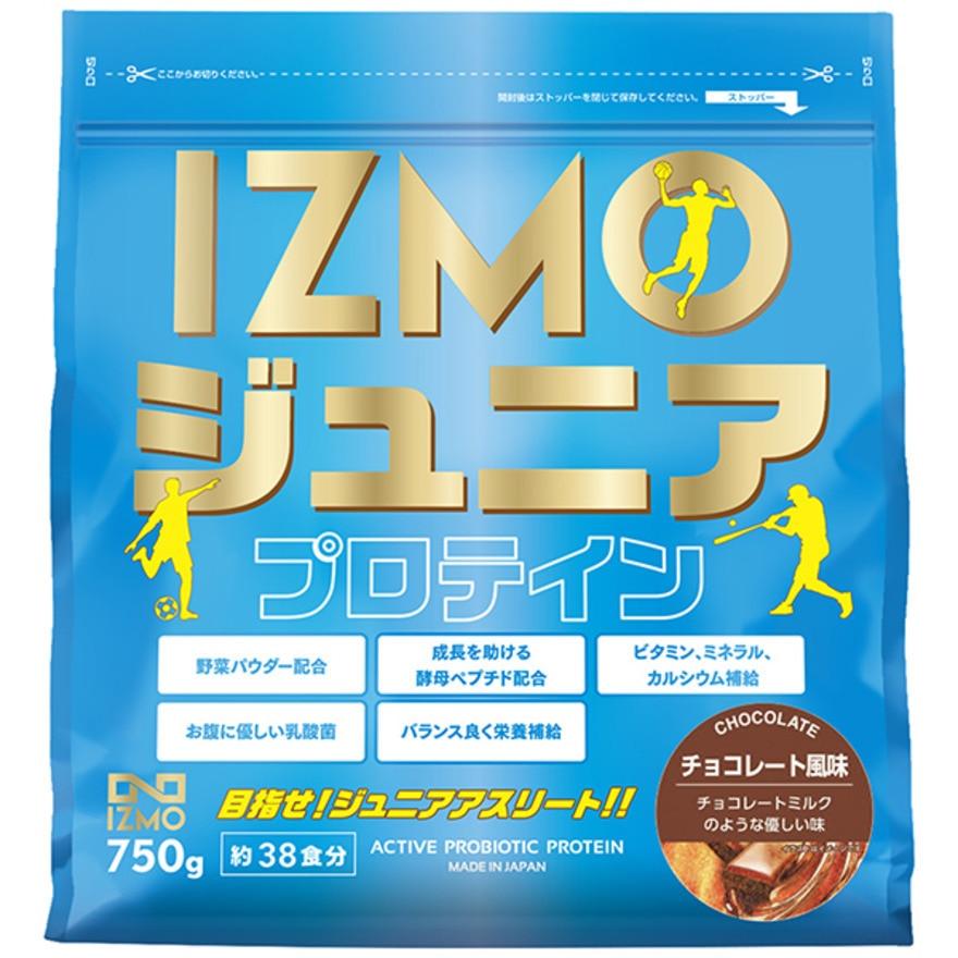 IZMO ジュニアプロテイン チョコレート風味 750g