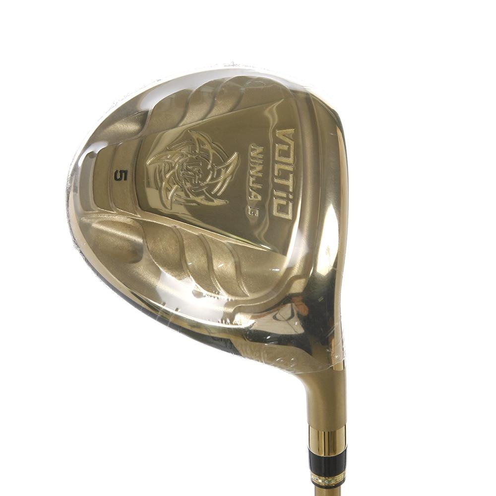 <ヴィクトリアゴルフ> VOLTIONINJA G FW 880Hi GOLD フェアウェイウッド (#5 ロフト18度) フジクラ製 オリジナル Supeeder 361画像