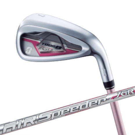 JGR LADY IRON ピンク 5本セット(#7-9、PW、SW) AiR Speeder JGR for Iron