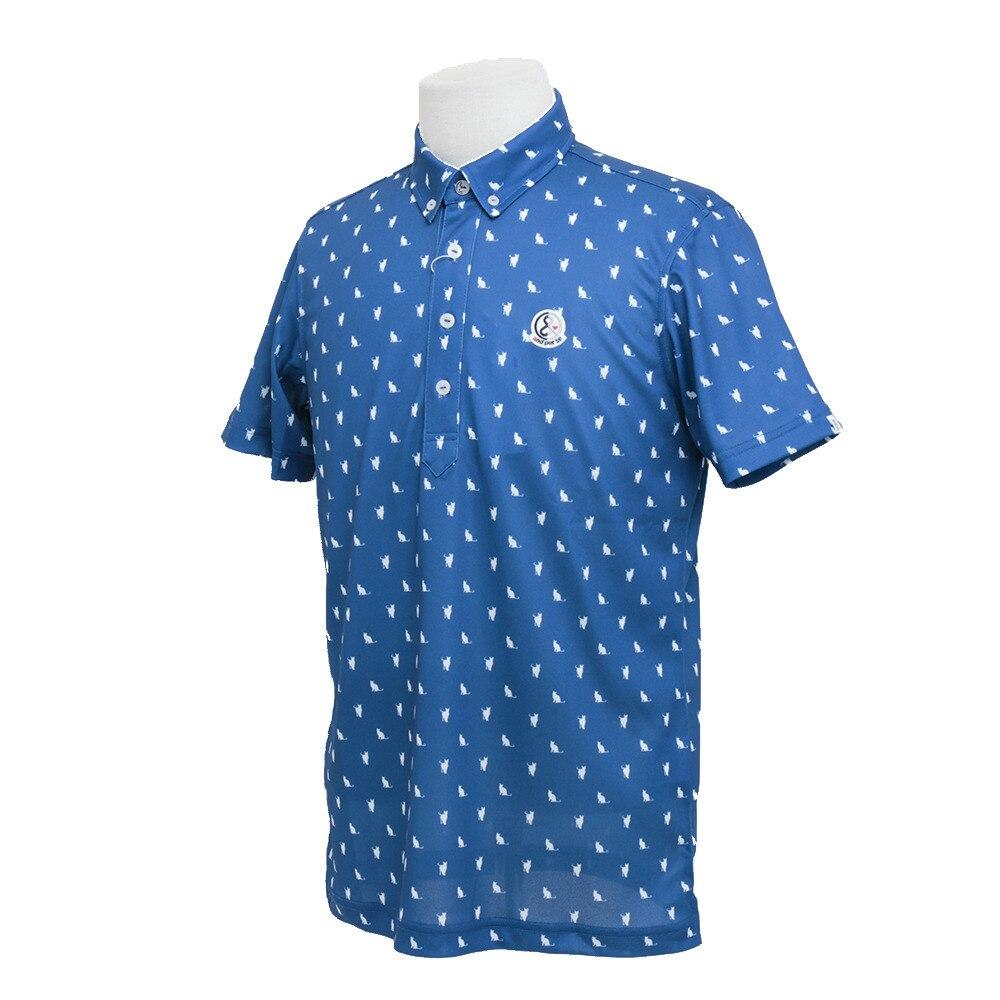 送料無料!半袖ボタンダウンシャツ 9617MS/X1 035 【17春夏】<ヴィクトリアゴルフ>