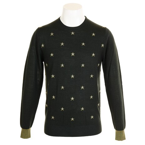 セーター STAR ROUND SWEATER DM32JJ01 KHA