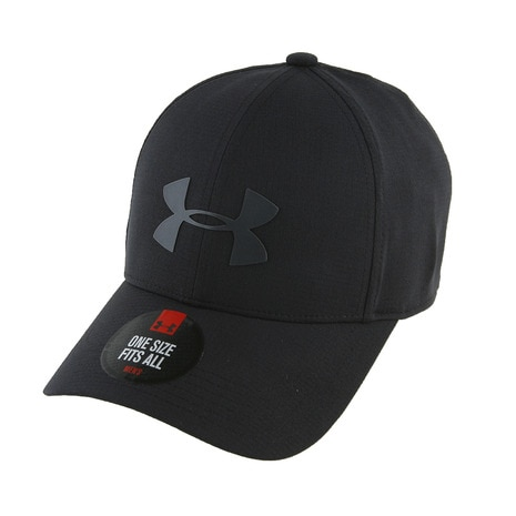 UA COOLSWITCH DRIVER CAP #1291837 BLK/BLK GO