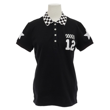 RACING POLO V121820L-CT06-BLK
