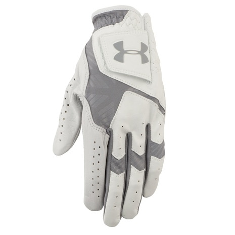 UA COOLSWITCH GOLF GLOVE 1275449 左手用 WHT/STL/STL 【2017年モデル】