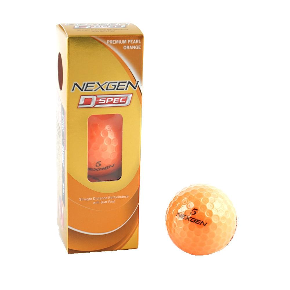 ゴルフボール NEXGEN D-SPEC NB-171 3P POR オレンジ ヴィクトリアゴルフ