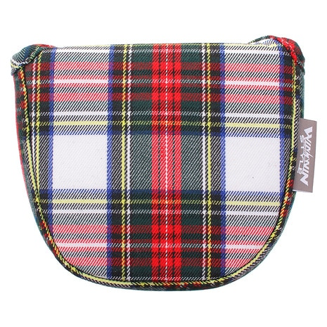 NEO TRADITIONAL PUTTER COVER TARTAN CHECK マレットタイプ PCMN-013