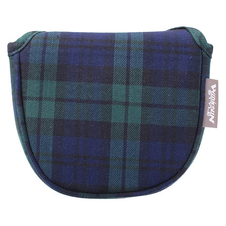 NEO TRADITIONAL PUTTER COVER TARTAN CHECK マレットタイプ PCMN-014